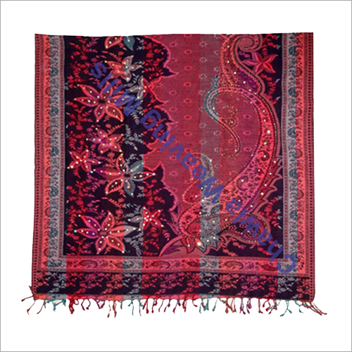Ladies Poly Wool Shawls