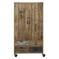 Industrial Almirah 2 Door 4 Drawer