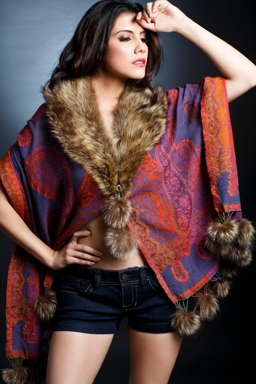 Fur Women Shawls