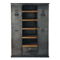 Industrial 2 Door Cabinate