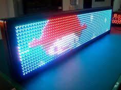 Lcd Ticker display board