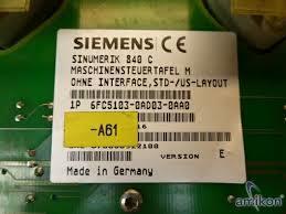 SIEMENS 6FC5103-0AD03-0AA0