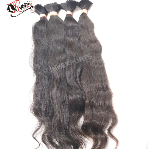 Indian Temple 100% Raw Bulk Virgin Indian Human Hair