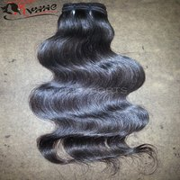 Wholesale 100% Natural Raw Indian Virgin Hair Extension Indian Temple Hair