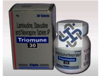 Triomune Lamivudine 150mg Stavudine 40mg Nevirapine 200mg Tablet