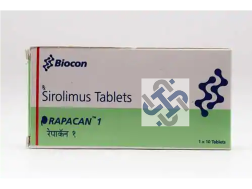 Sirolimus 1mg  Rapacan Tablet