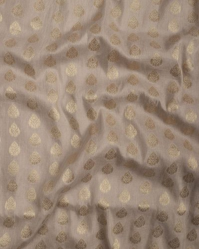 Cotton Dyeable Jacquard Silk Fabric