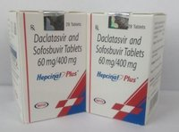 Hepcinat Plus Daclatasvir 60mg, Sofosbuvir 400mg Tablet