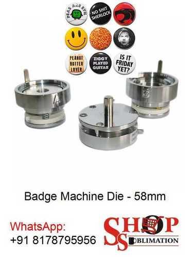 Button Badge Machine Die 58 mm