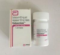 Velpaclear Sofosbuvir 400mg Velpatasvir 100mg Tablets