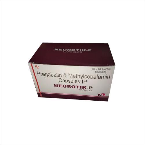 PREGABALIN 75 MG + METHYLCOBALAMIN 750 MCG
