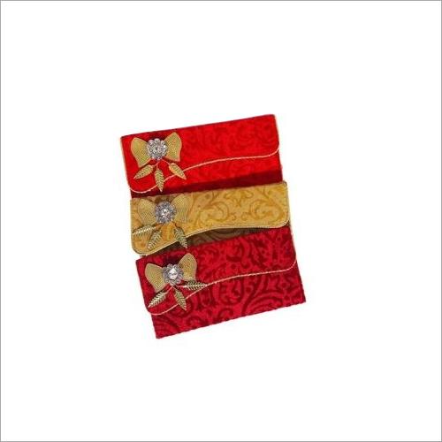 Parvenu Shagun Single Piece Velvet Envelope.