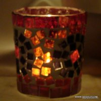 Antique-Style Glass Votive