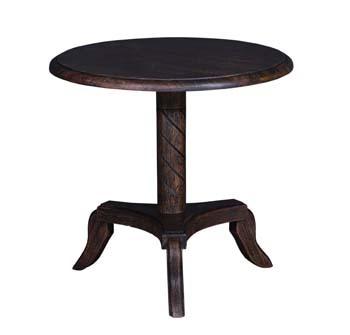 Round Pedestal Lobby Table