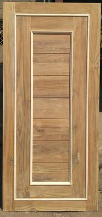 Teak Wood Door with maple beading