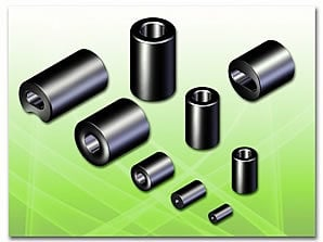 Sleeve Type Ferrite Core For Cable/Harness Assembly Certifications: Iso9001/14000/ Ts16949