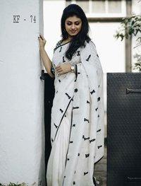 Chanderi Fancy Saree