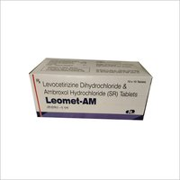 LEVOCETIRIZINE HCL  + AMBROXOL HCL
