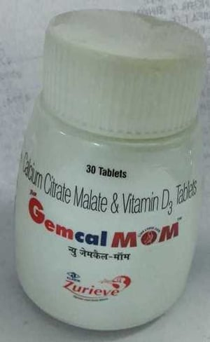 calcium citrate malate vitamin d3 tablets