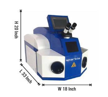 Jewellary Laser Spot Welding & Soldering Machine