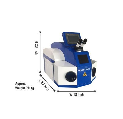 Laser Spot Welding Machine (With Computer System)