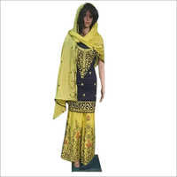 Ladies Fancy Sharara Suit