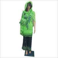Ladies Embroidered Sharara Suit