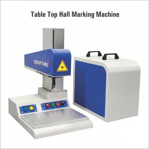 Table Top Hall Marking Machine