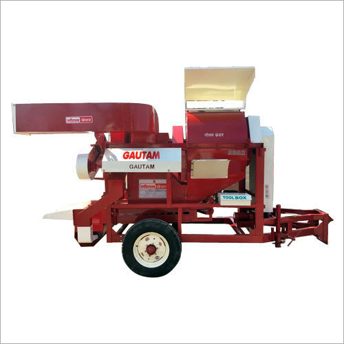 Single Crop Auto Feeder Thresher