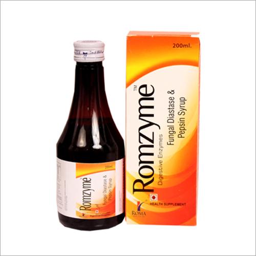 Fungal Diastase & Pepsin Syrup