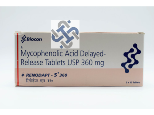 Mycophenolate Mofetil 360mg Tablet