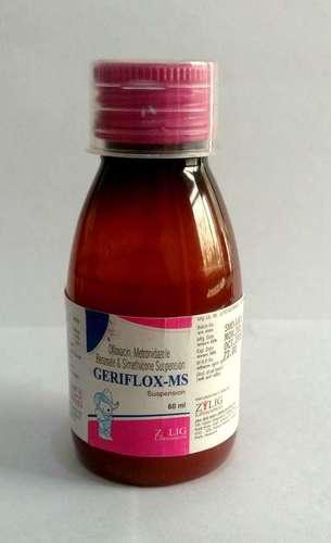 Ofloxacin + Metronidazole banzoate + Simethicone