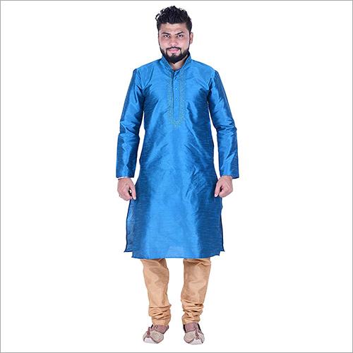 Blue Kurta Pyjama