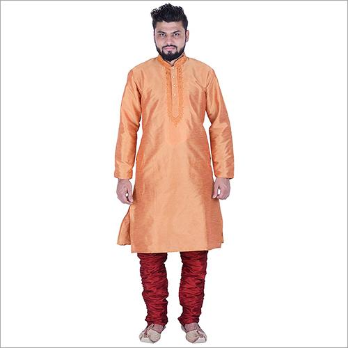 Orange Kurta Pyjama