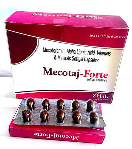 Each Soft Gelatin Capsule Contains Mecobalamin + Folic Acid