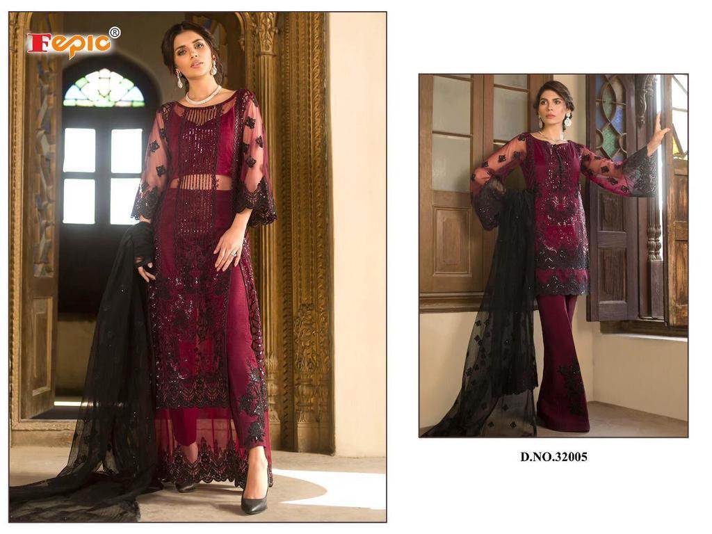 Designer Net Salwar Kameez