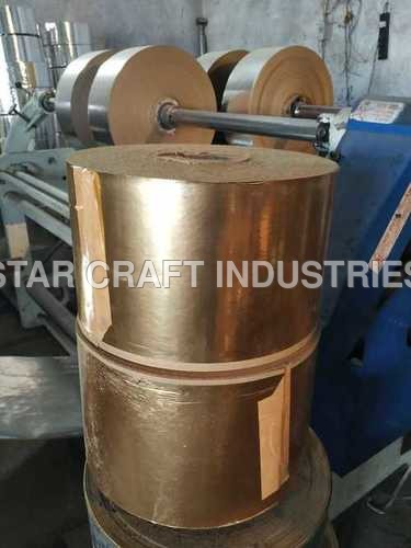 Laminated Gold Paper Roll