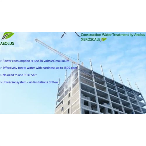 Construction Water Treatment by Aeolus XEROSCALE