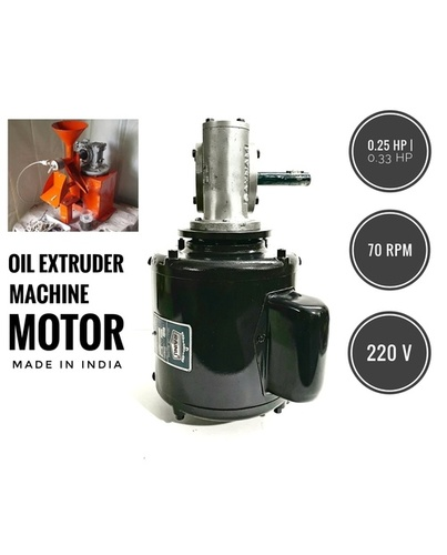 Mini Gearmotor for Oil Expeller Machine