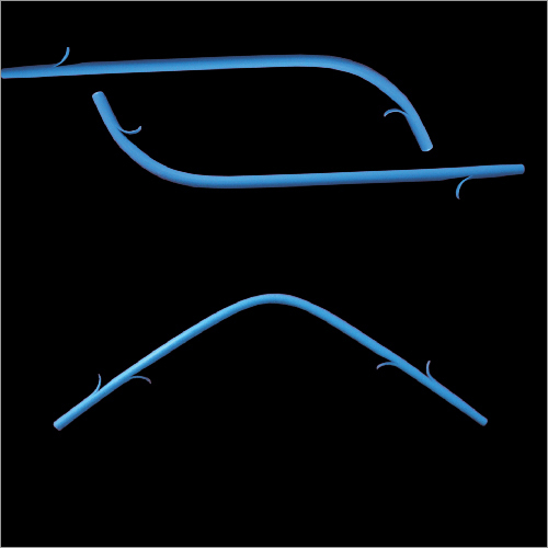 Plastic Double Wings Stents