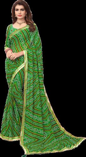 Colourful Printed Saree