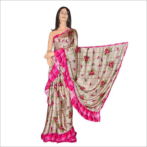 Ladies Frill Saree