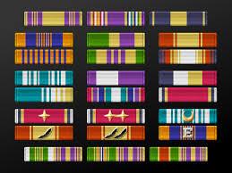Military Rank Ribbons