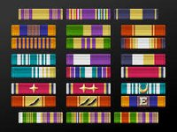 Military Rank Ribbons