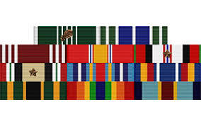 Military Ribbons & Medals