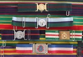 Regimental Belts