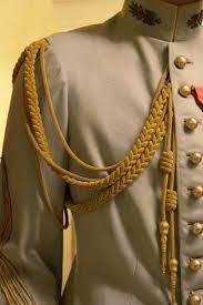 Army uniform Aiguillettes