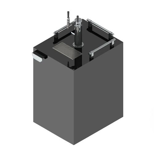 Commercial Coffee Kegerator - 2 Tap - 220 V