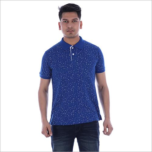 Collar Half Sleeve T-Shirt