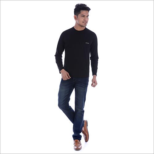 Full Sleeve Black T-Shirt